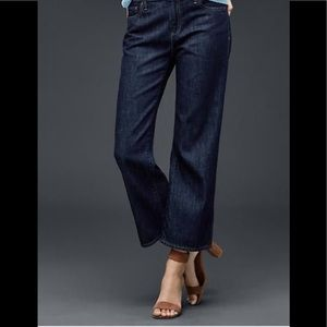 Gap Straight Fit Flared Leg Ankle Jean